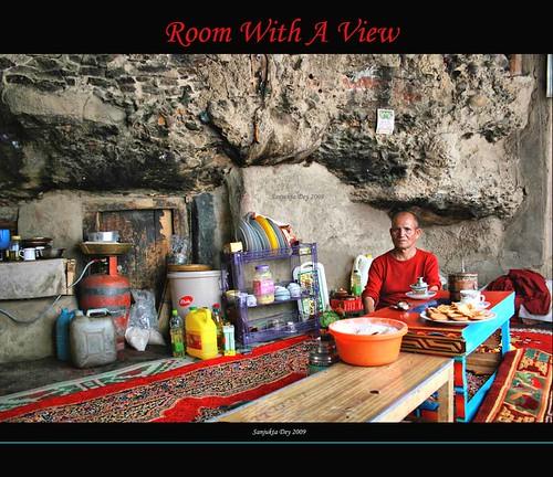 SB Gompa Cave, Ladakh, Jammu & Kashmir, India - 30.08.09
