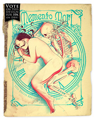 Memento mori (mathiole) Tags: love clock death skull time ephemera bones mori memento