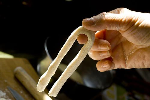 dough strand