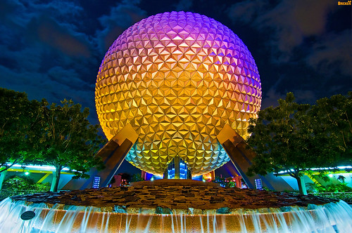 "SpaceShip Earth Non-HDR ""HDR"""