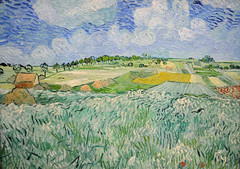 Vincent van Gogh - Plains near Auvers, 1890 at Neue Pinakothek Munich Germany (mbell1975) Tags: new art museum germany painting munich mnchen deutschland bavaria gallery european near vincent eu muse impressionism van plains gogh impression neue pinakothek bei auvers ebene pfip