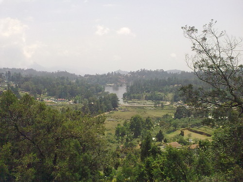 Kodaikanal Lake - View from the hill