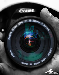 Canon Lens ;) (ZiZLoSs) Tags: macro canon lens eos usm f28 aziz ef100mmf28macrousm abdulaziz  ef100mm 450d zizloss  canoneos450d 3aziz almanie abdulazizalmanie