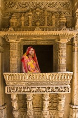 Step well of Adalaj (Tilak Haria) Tags: india window architecture gandhinagar stonecarvings gujarat adalaj pratibimbsangli