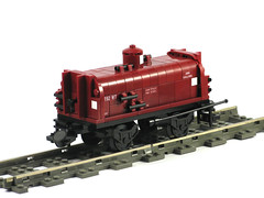 WT Water Tank Wagon (scruffulous) Tags: train wagon lego victorian railways watertank wt