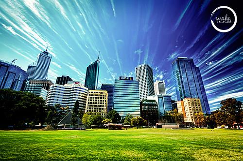 Perth, byen jeg bor i.
