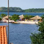 Praia de Alter do Chão - Rio Tapajós - Santarém - Pará - Norte - Amazonia - Brasil. thumbnail