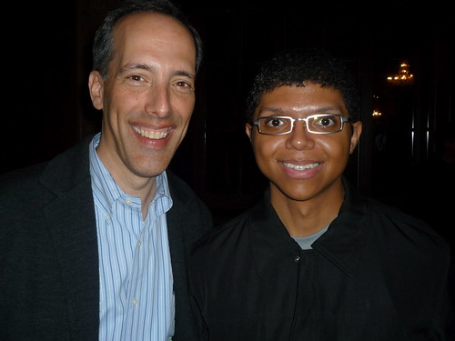 Steve Garfield and Tay Zonday
