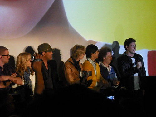 Glee Screening at The Grove