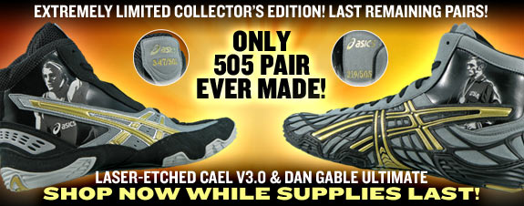 Dan Gable Limited Edition Wrestling Shoes – images free download