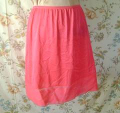 Half slip in hot HOT pink (HeidiGo Lightly) Tags: vintage apron nylon slips halfslip sexyhousewife