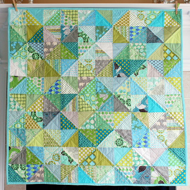 If it's a boy quilt - front