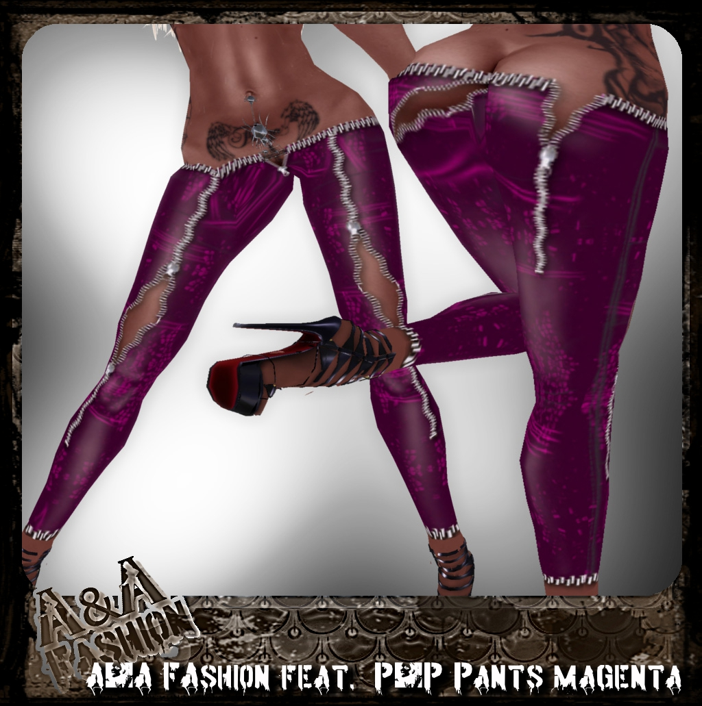 A&A FAshion feat. P&P Pants magenta
