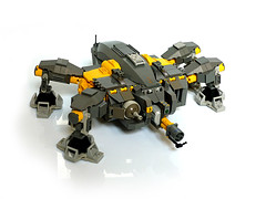 PanzerSpinne (Pierre E Fieschi) Tags: robot lego flame walker spinne mecha mech panzer thrower fieschi powerfunctions pierree panzerspinne