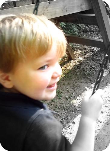 H swinging