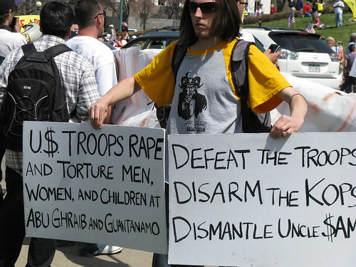 Hateful, Vile, Violent Signs at Denver Tea Party...