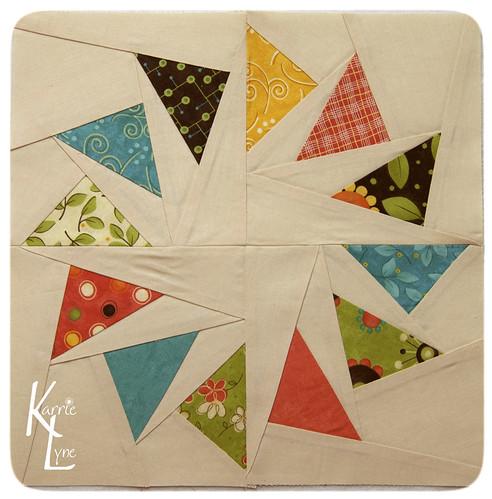 Day 105 - Extra Pinwheel Block #2