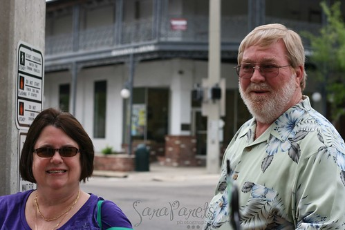 Mom and Dad in Mt. Dora