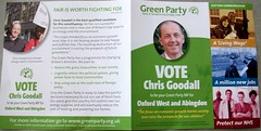 Green Party Leaflet (day 106 of 365) (Brownie Bear) Tags: uk ireland party west green project election day general britain united political great kingdom literature 106 part oxford gb 365 northern abingdon manifesto 2010 leaflets mmx project365 365project ccclxv 106365