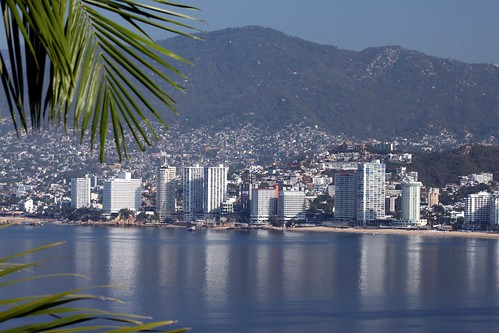 Are you coming for the first time in Acapulco