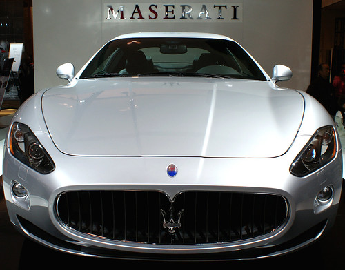 Maserati - I'd get LDW if I rented one of these...