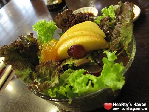 salad tempura