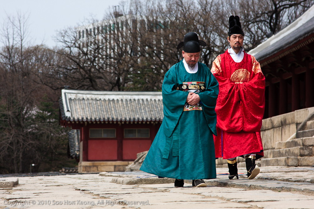 Memorial Service Performance @ Jongmyo Shrine, Seoul Korea