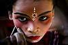 Child in red...........Explored.......... (subirbasak) Tags: portrait people india face eyes child hinduism childportrait indianpeople facestudy mywinners gajan indianritual subirbasak traditionalritual traditionalritualofindia gajanfair chadakpuja makeupingajanfair gajanfestival chaitrasamkranti indiantraditionalritual