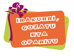 Irakurri, Gozatu eta Oparitu - Logoa
