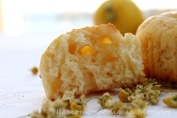muffins alla camomilla