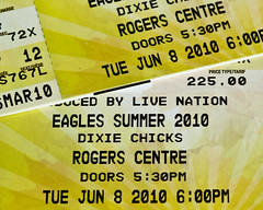 Eagles Tickets! (dibytes) Tags: music tickets concert april eagles dailyshoot ds157