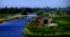 Dutch-Lanscape (fear ciun) Tags: holland landscapes canals fields sheds