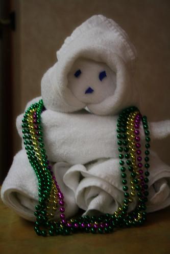 Carnival Spirit - Towel Animal - Mardi Gras Thing