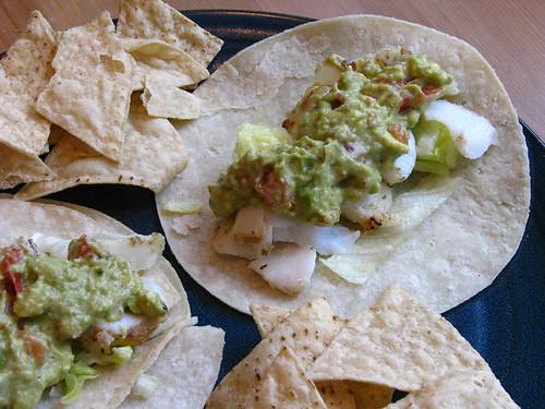 BBQ Cod Tacos