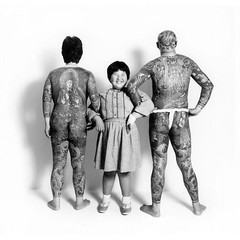 oyako_1 (intheozone) Tags: family japan tattoo nude japanese child father mother parent familyportrait fundoshi irezumi parentandchild oyako tattooist relation parentsandchidren