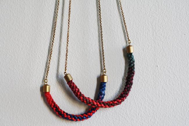 New Necklace Peek