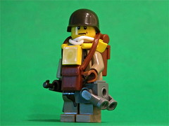 Paratrooper V2! (antha) Tags: us lego wwii v2 paratrooper brickarms