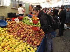 Helene at the Market - Beyoğlu, Istanbul, Turkey