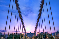 Sunset in Budapest from the Szchenyi chain bridge | Lnchd, Hungary (Paolo Margari) Tags: morning bridge sunset canon photography dawn photo hungary foto photographer alba budapest bridges photographers ponte fotografia duna canoneos danube hdr pest fotografo fotografi hungarian ungheria mattino danubio hongrie szchenyilnchd ungherese szchenyichainbridge italianphotographers pontedellecatene paolomargari fotografiitaliani pontchanes woodstock5stelle