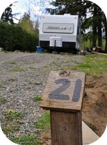 K's campsite