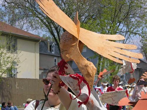 bird of parade