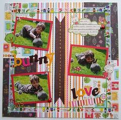 Create 10 Project 9 (FizzPopBang) Tags: scrapbook scrapbooking layout prima sassafras mymommyandme craftytemplates create10 sunshinelollipop