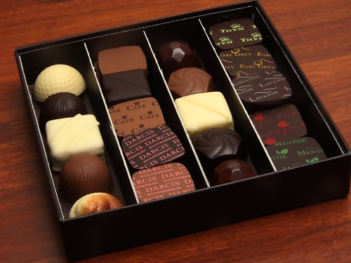 Chocolate Pralines from Darcis