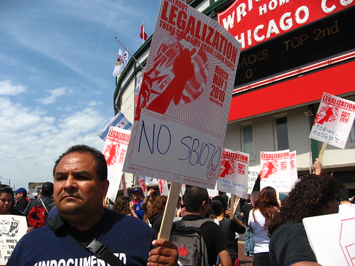 Immigration Rally Wrigley Field 9