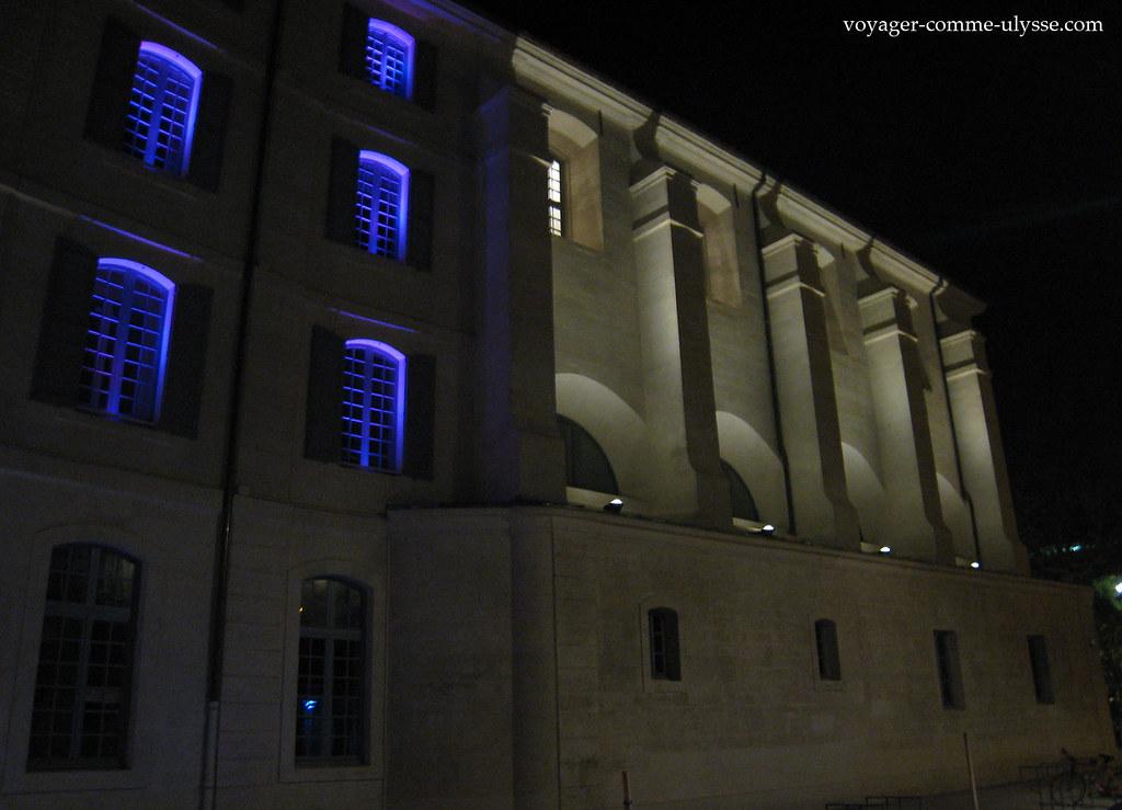 Illuminations changeantes aux fenêtres