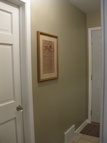 Back Entry Hall: Filling Blank Wall
