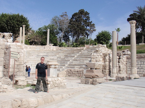 Me and the Roman ruins