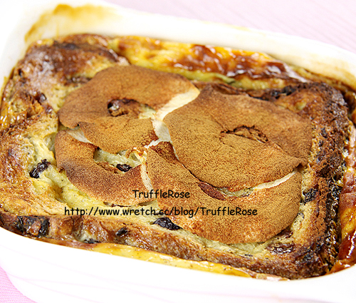 阿莫媽的蘋果麵包布丁-100526
