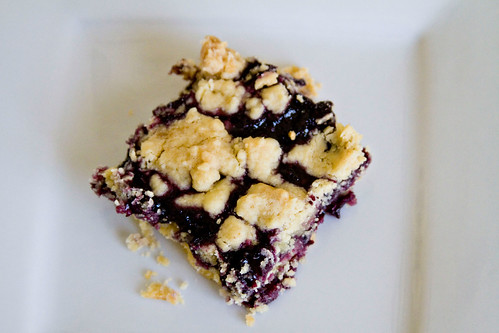 Blueberry Crumble Bars - 8