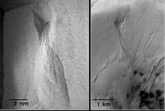 Barrancos de Marte